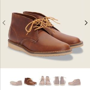 Red Wing Weekender Chukka Copper Rough & Tough